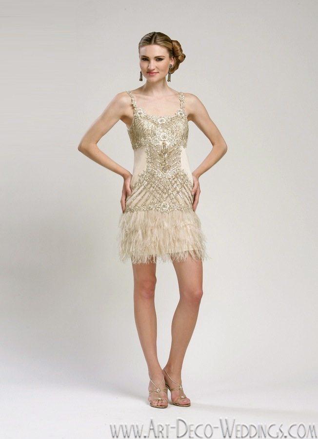 1920s Wedding Dresses || Sue Wong | Deco Weddings