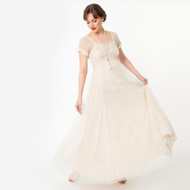 Edwardian Style Wedding Gown | Nataya
