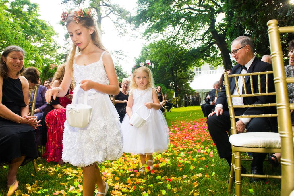 Flower Girls | Art Nouveau Wedding