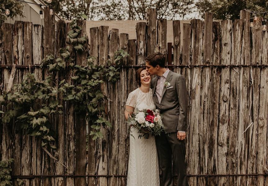 Intimate Vintage Backyard Wedding | Austin TX