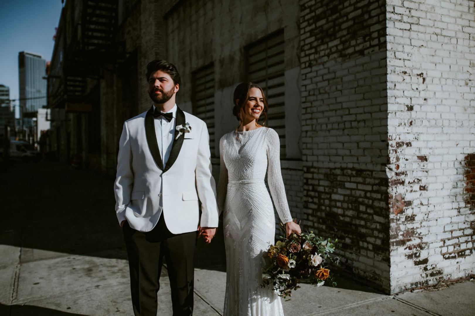 Vintage Industrial NYC Wedding