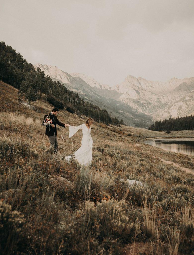 Vintage Boho Mountain Wedding