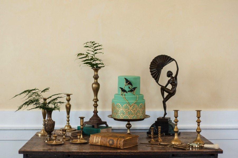 Vintage Literary Themed Wedding Inspiration